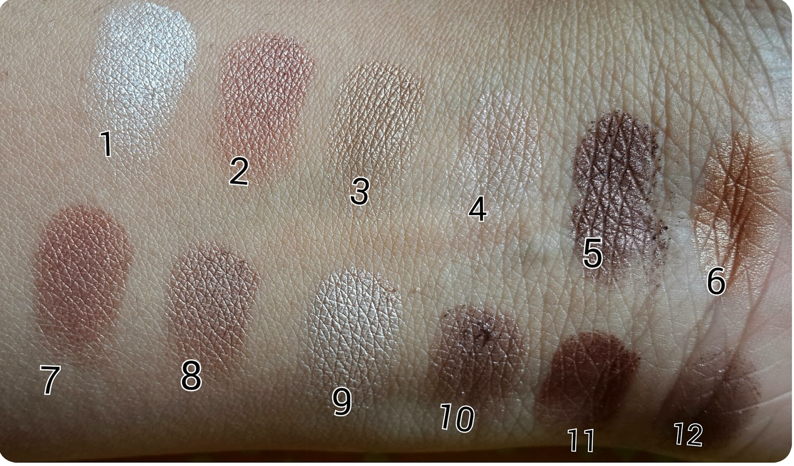 MUA Heaven & Earth Palette looks, MUA Heaven & Earth Palette VS Urban Decay