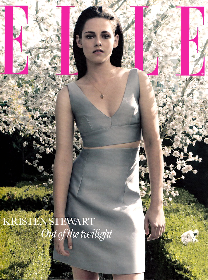UK Elle June 2012: Kristen Stewart by David Slijper