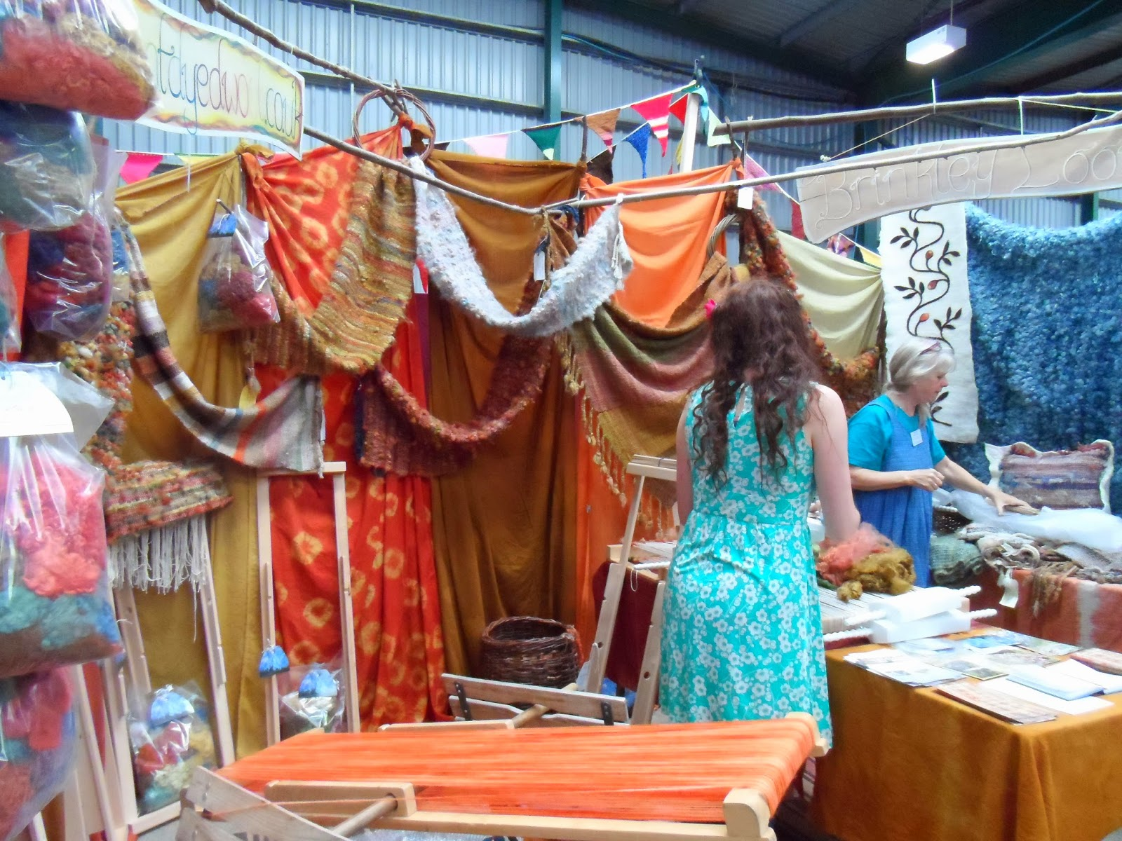 Woolfest 2014 - Brinkley Looms