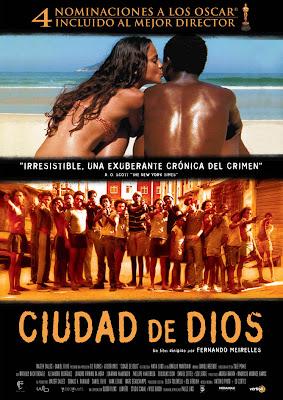 Cartel película Ciudad de Dios