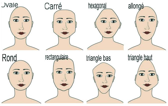 essayer une coiffure