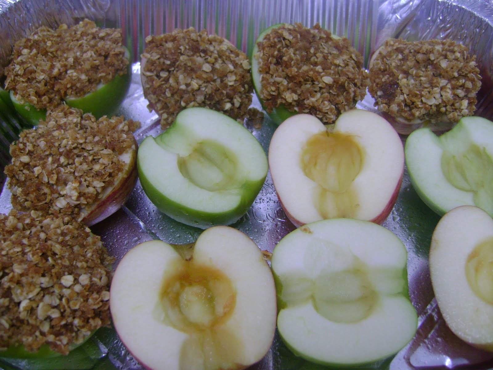 Baked Apples Stuffed With Cinnamon Date Pecan Oatmeal Recipes ...