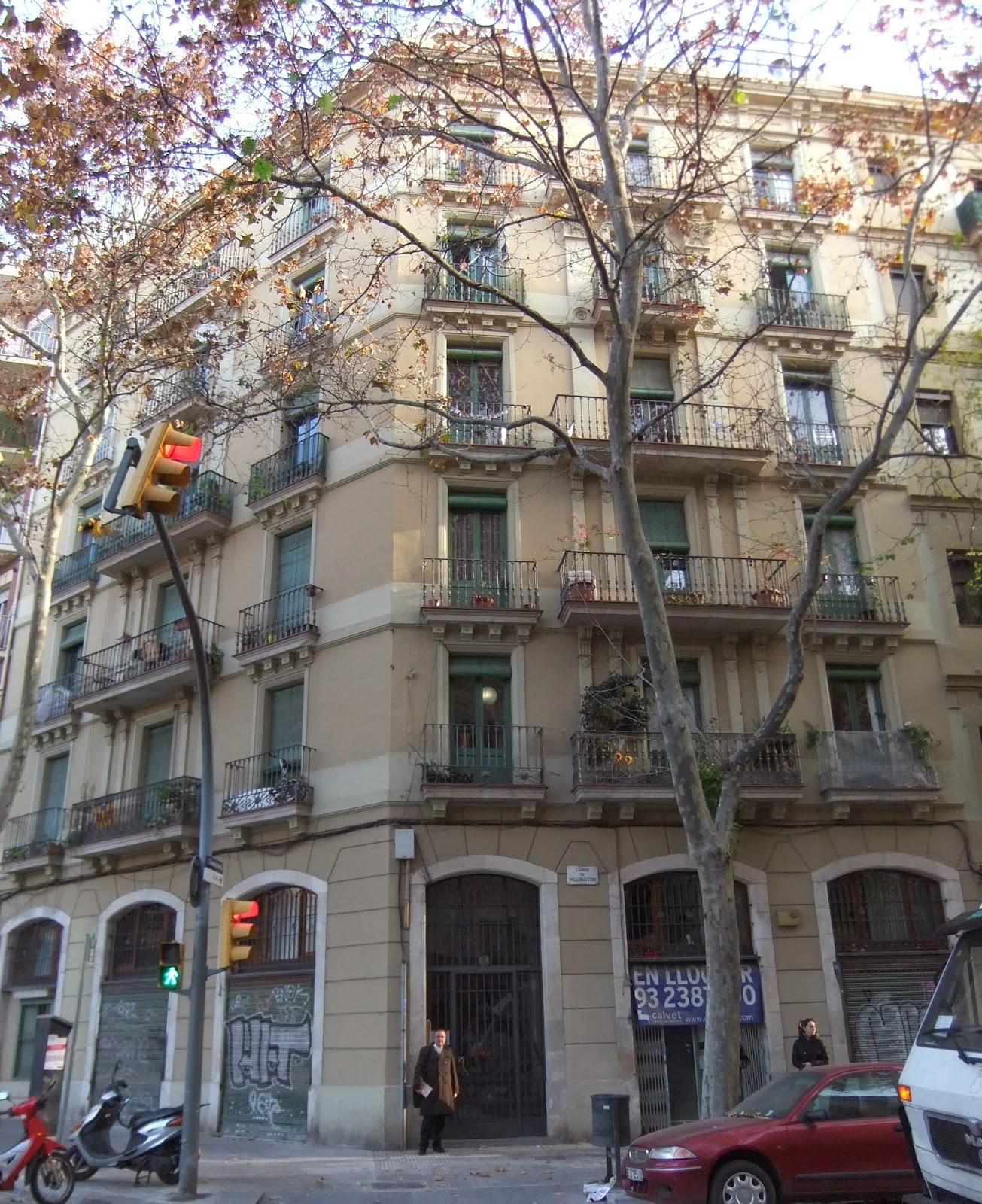 Els socarrats que van vindre a barcelona a finals del for Piso wellington barcelona