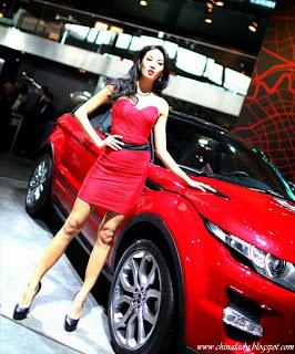 Hot model Zhang Lan Xin