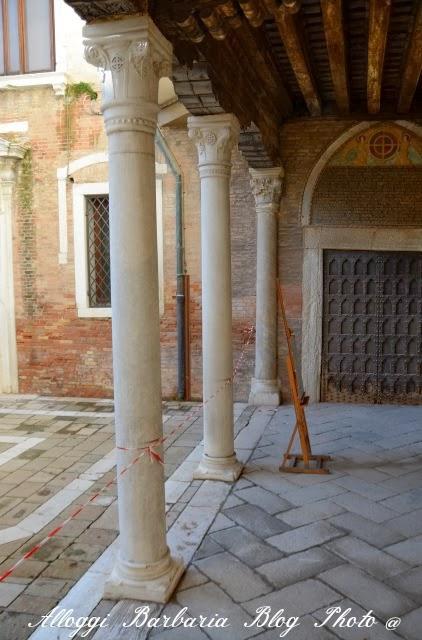 Colonnato Corte Piccola Accademia