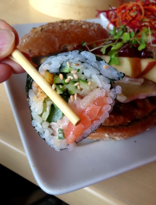 Cowfish: Burgers and Sushi!