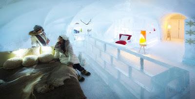 Ice Hotel no Japão
