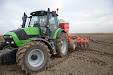 Cerea autosteer system & Solá Neumasem 799 seed drill & Deutz-Fahr Agrotron m600