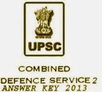 UPSC CDS 2 Result 2013