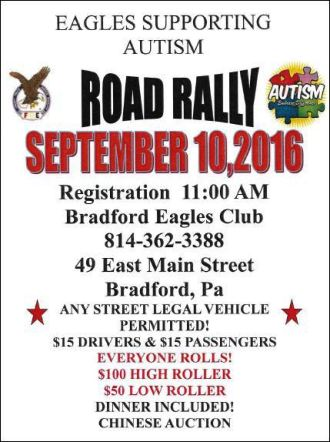 9-10 Eagles Road Rally