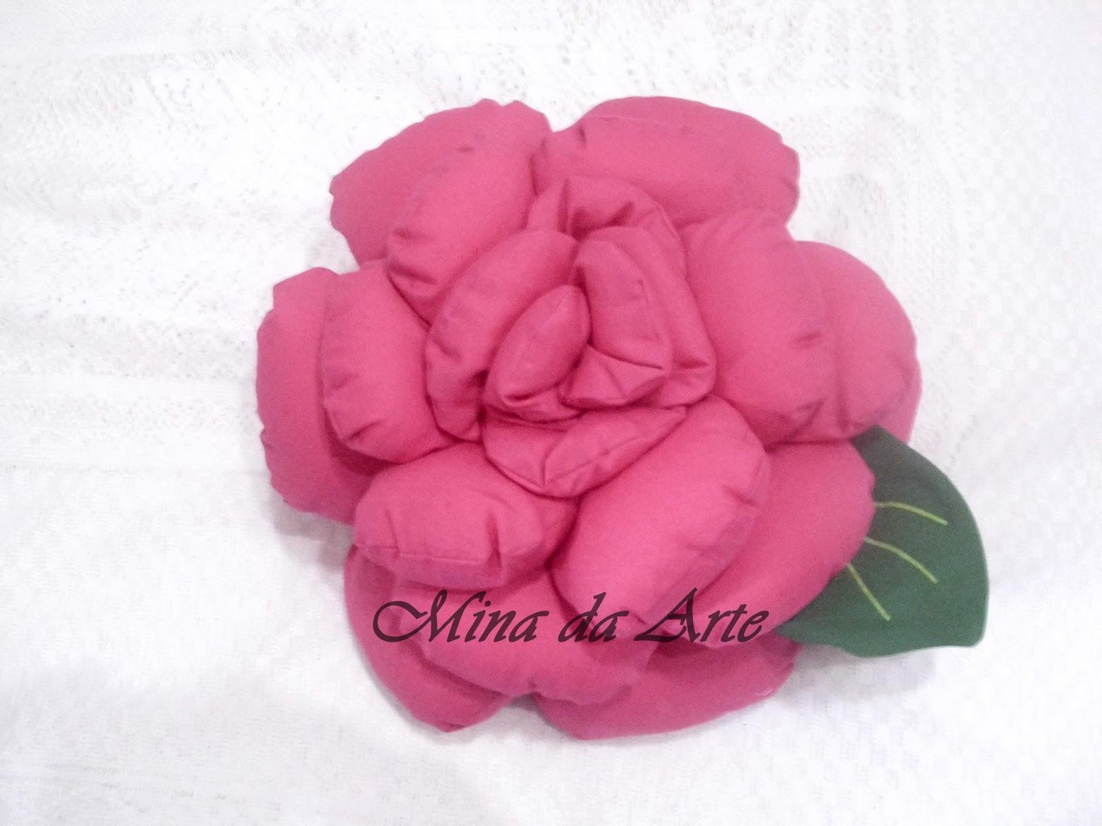 Almofada De Rosa