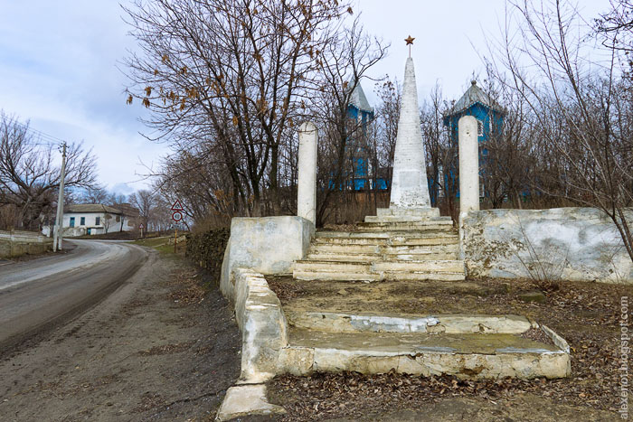 Памятник на братской могиле времён Гражданской войны 1918-20 годов