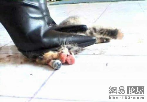 Hot! trampled and crushed beneath high heel shoes fetish