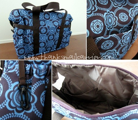 Tiny Tillia Essential Diaper Bag review