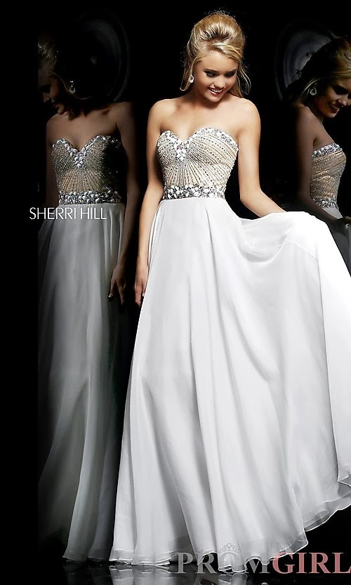 Latest Fashion Trends Sherri Hill Beautiful Long Prom Dresses 2013 2014