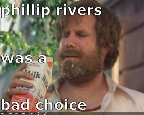 phillip rivers was a bad choice - #badchoice #ChargersHaters #Rivers
