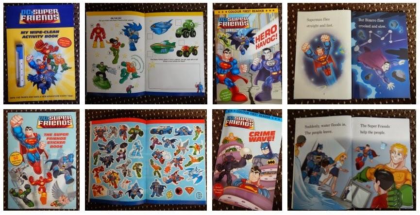 Yorkshire Blog, mummy, Parent Blog, Children's Book, DC Super Friends, Activity Book, Sticker Book, Story Book, Review, Random House,