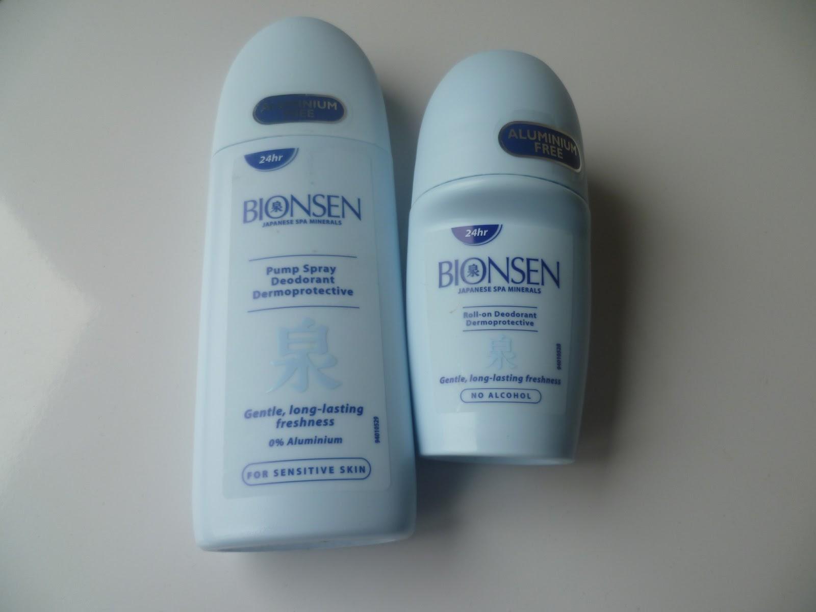 Bionsen Japanese Spa Minerals Pump Spray & Roll On Deodorant - Futures