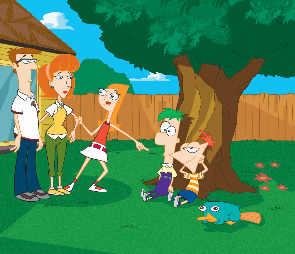 Phineas Ferb Candace y Perry wallpapers