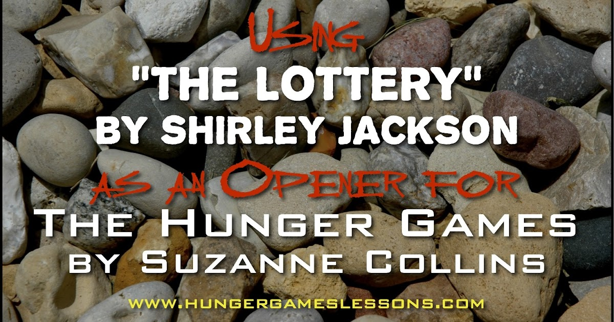 the lottery by shirley jackson 3 essay Back in shirley jackson's the lottery irony is an underlying motif used throughout the story shirley jackson entails citizens in a groundwork of adhering to a longstanding standard process of lottery.