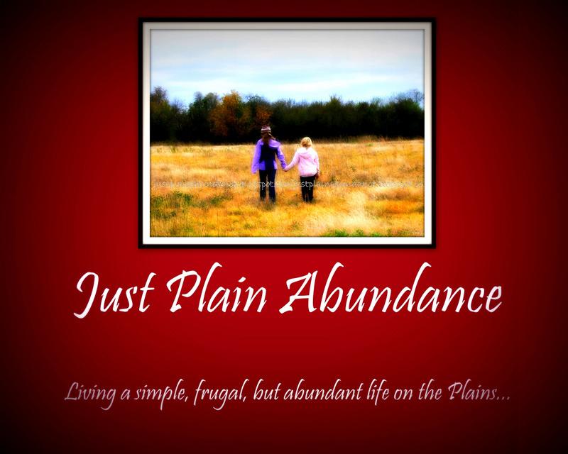 Just Plain Abundance