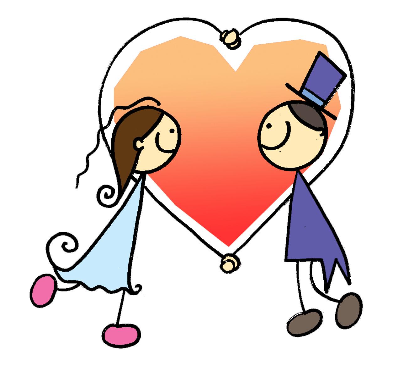 Fizesse Alguns Desenhos Para Ilustrar O Convite De Casamento  Ei Los