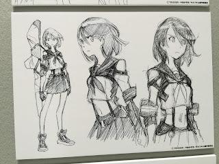 Early Matoi Ryuko Design