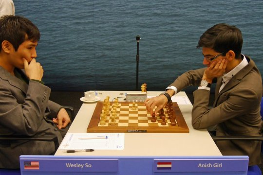 L'analyse vidéo de la partie d'échecs Wesley So contre Anish Giri
