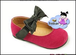 KAREN PINK BOW SHOE RM45