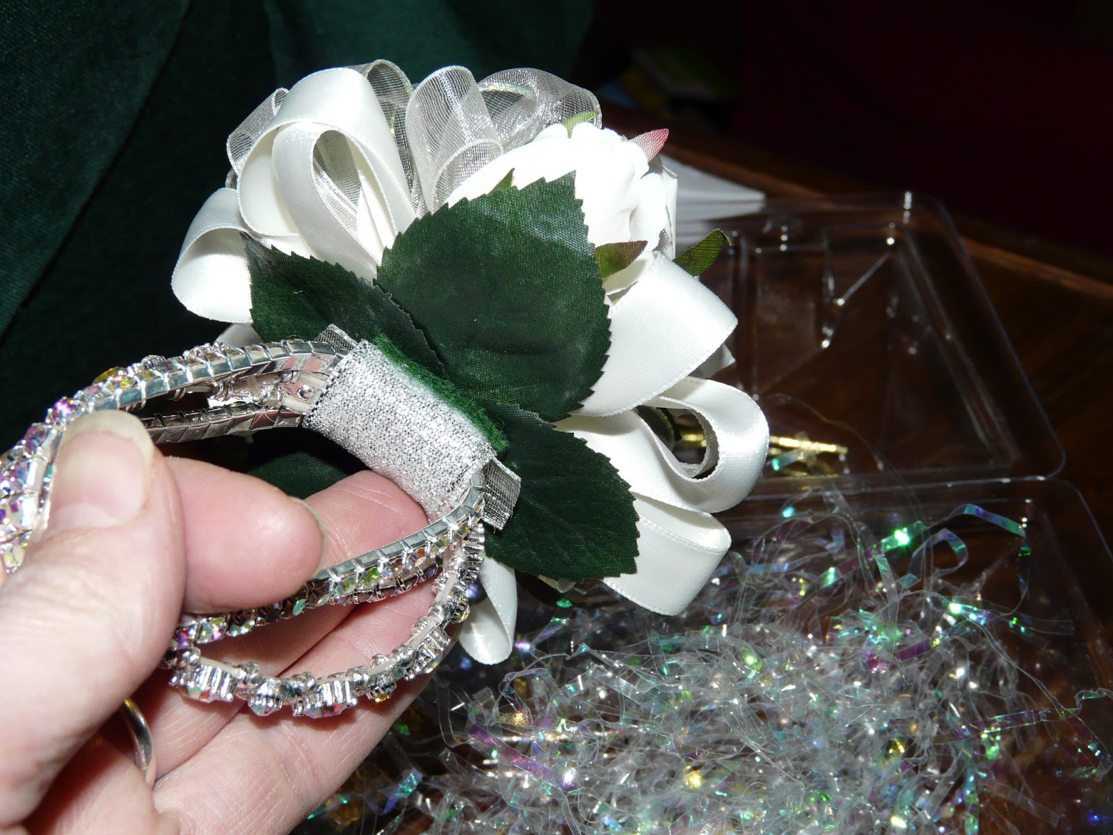 The Secret Is Gratitude Forever Corsage Fake Wrist Corsage That