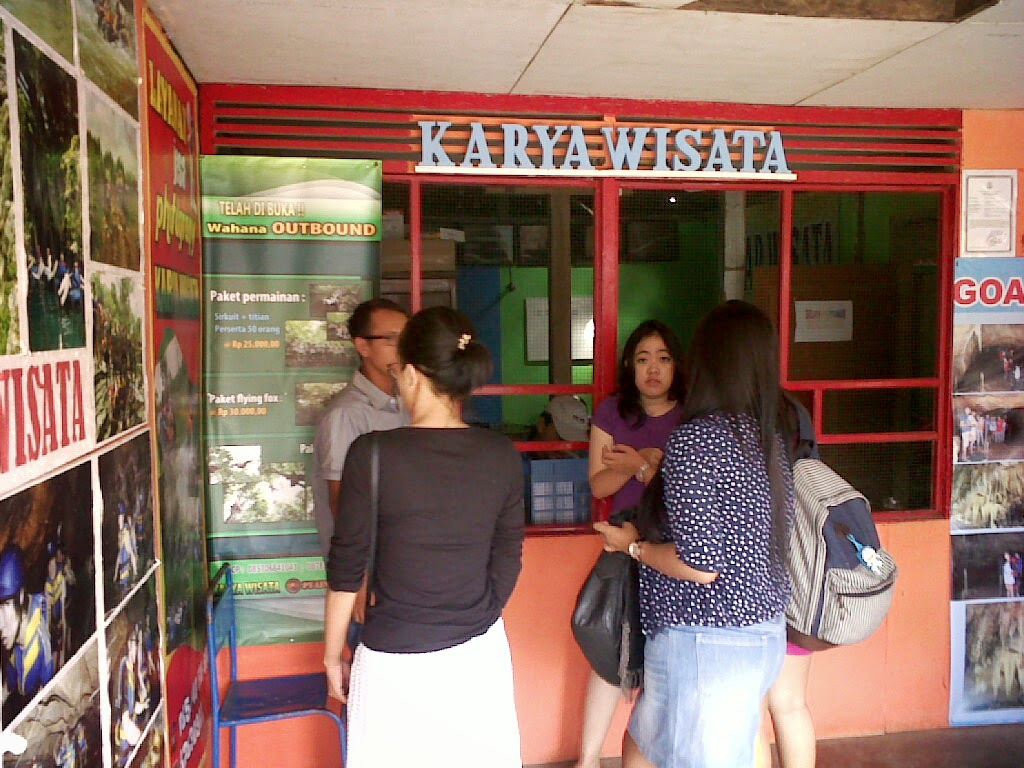 Intenerary Perjalanan Paket City Tour Jogja Gua Pindul