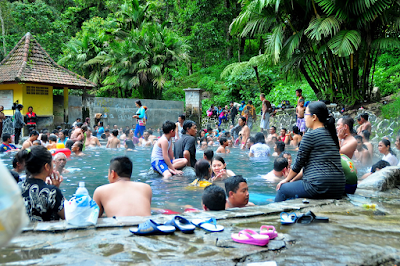 Pemandian Air Panas Cangar Batu Malang Jawa Timur