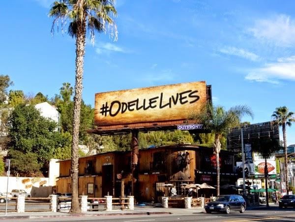 Odelle Lives Odyssey teaser billboard