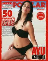 Ayu Azhari Di Majalah Popular