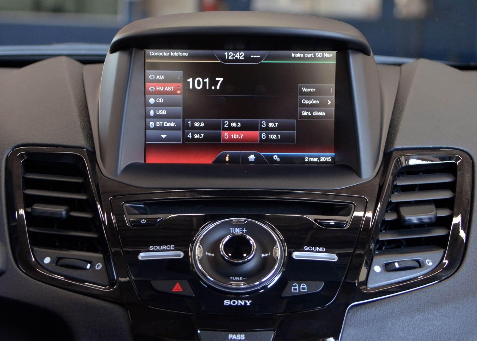 Ford New Fiesta Sedan Titanium Plus 2015 - GPS