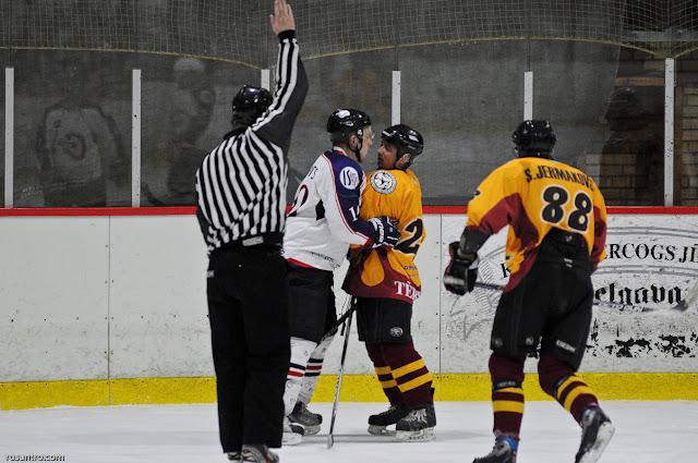 UHL A līga play off Tērvete Cetra 2