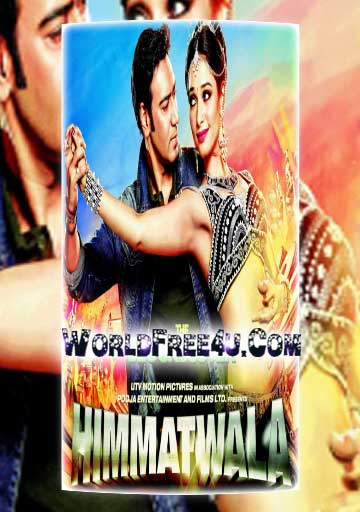 Poster Of Hindi Movie Himmatwala (2013) Free Download Full New Hindi Movie Watch Online At worldfree4u.com