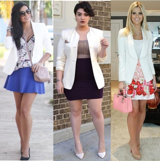 blazer branco, blazer branco, roupa, roupa branca, moda, moda feminina ...