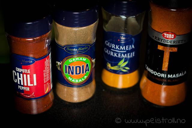 Indiske krydder