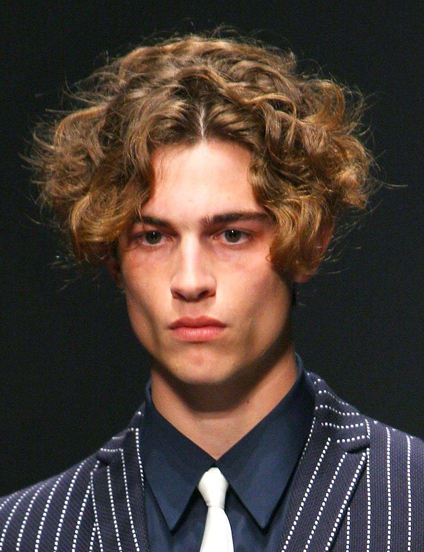 Hair Styles & Haircuts: Curly Hairstyles For Men