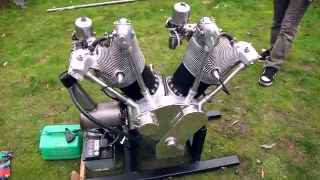 Allen Millyard 5liter V-Twin | V-Twin Engine | 5liter V-Twin | thekneeslider.com | way2speed.com