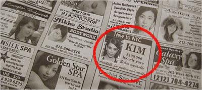 Kim Kardashian escort ad funny
