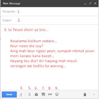 cara kirim email lewat gmail terbaru