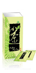 kuding plus tea green world