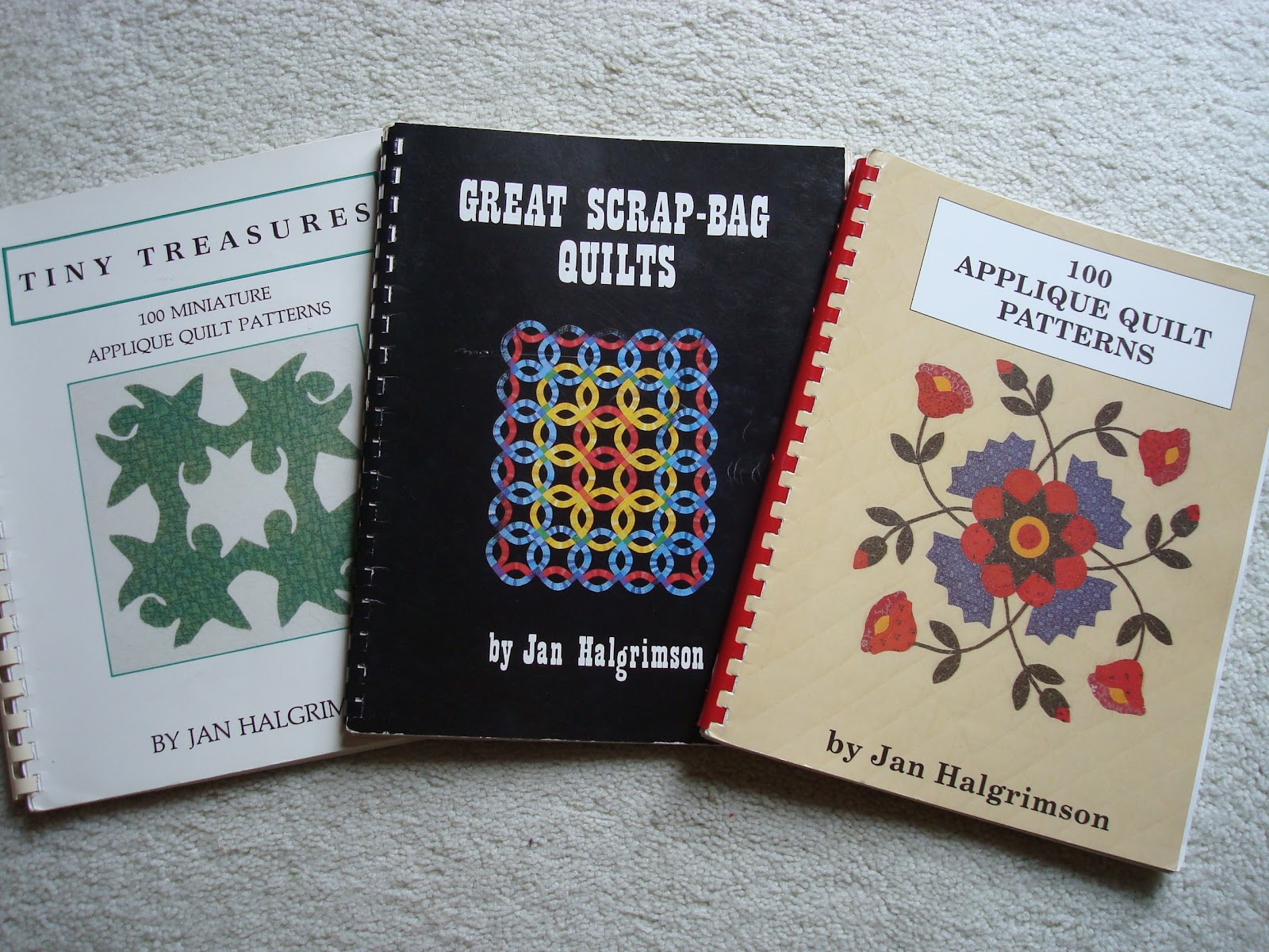 Funoldhag old quilt books