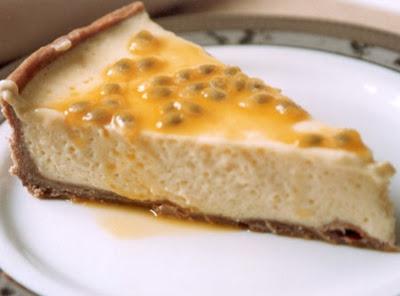 Receita de Torta de Maracujá do Nem