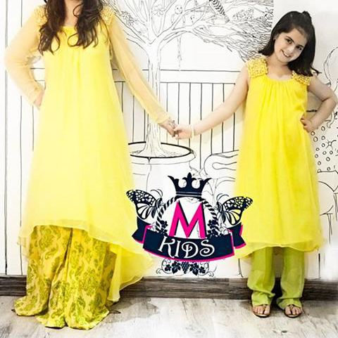 maria-b-eid-collection-2013-tail-dresses-in-pakistan-yellow.jpg