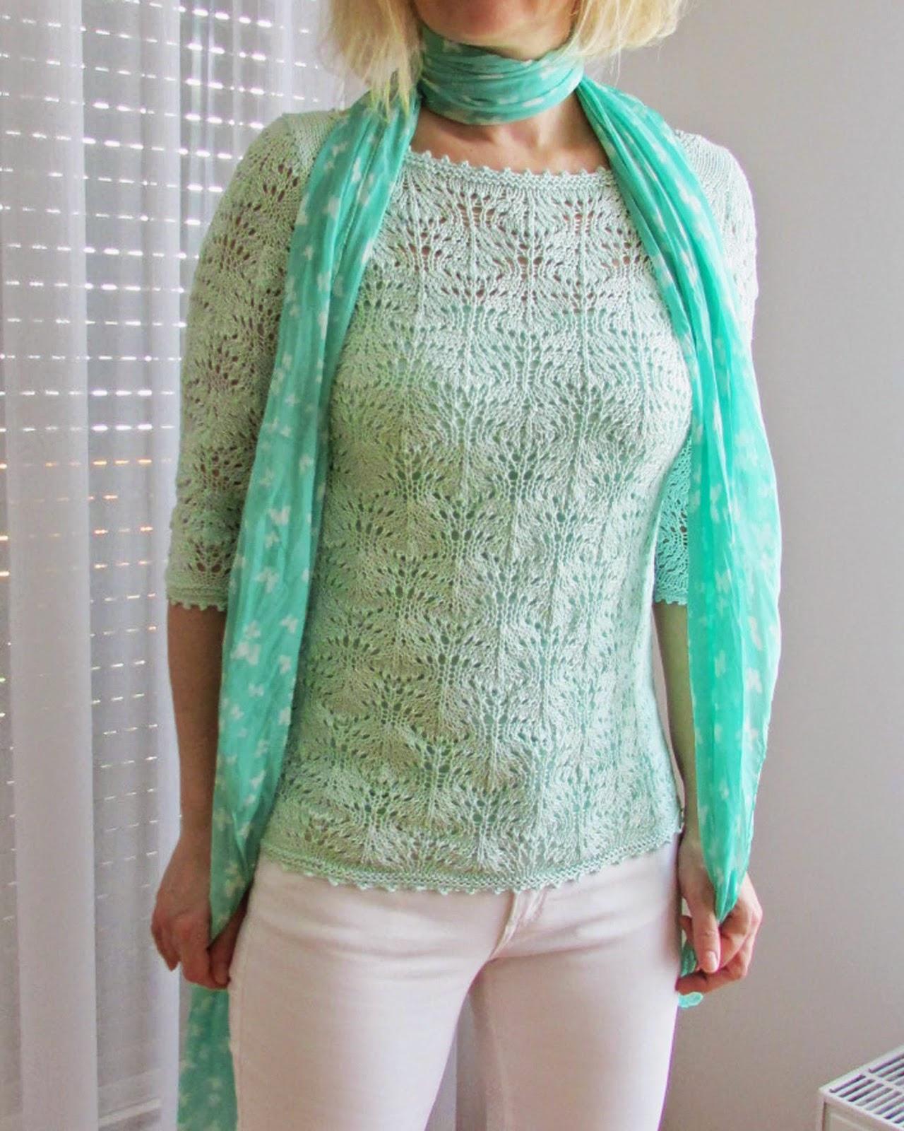 http://ladylinaland.blogspot.com/2014/05/mint-lace-sweater.html