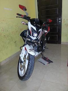 Honda CB150R Modification Niked Bike Street Fighter
