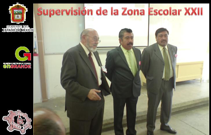 Supervisión Zona Escolar XXII
